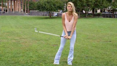 Photo of Kelly Rohrbach's Golf Instruction Video Probably Won't Help Your Game, But You'll Watch It Anyway (Video)