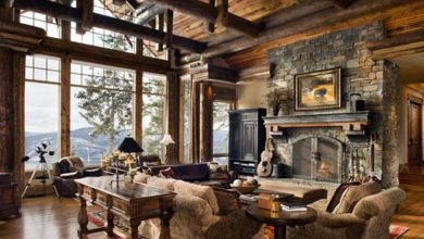 Photo of Beautiful Luxury Rustic Home Design (28 Photos)
