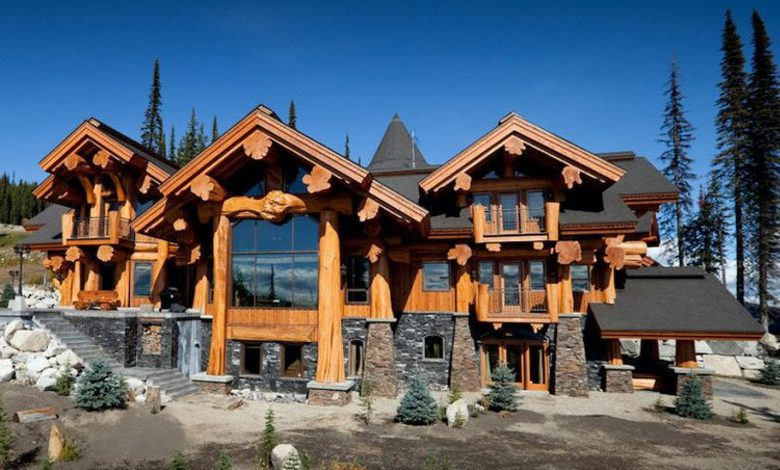 Photo of Dream House: 'Timber Kings' Log Mansion (24 Photos)