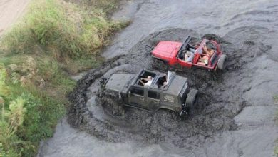 Photo of Afternoon Drive: Jack That Truck Up and Go Mudding (28 Photos)