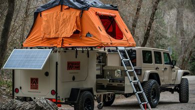 Photo of Base Camp Trailer For Rugged Outdoors (9 Photos)