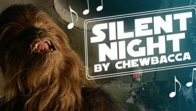 Chewbacca Sings Silent Night in New Holiday Classic (Video)
