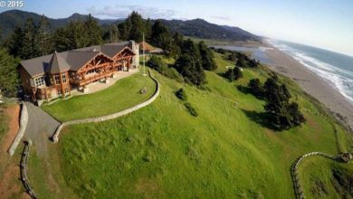 Photo of Dream House – Oregon Oceanfront Log Cabin (30 Photos)
