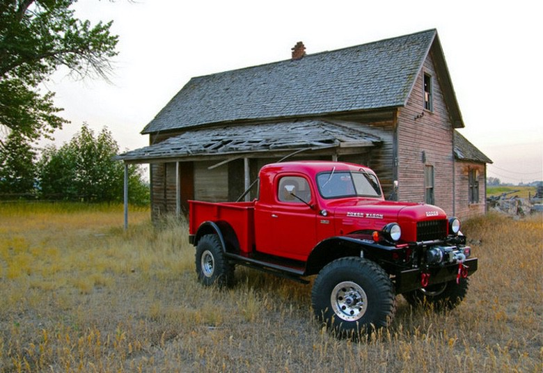 Check Out This Beautifully Restored 1946 Dodge Legacy Power Wagon (1)