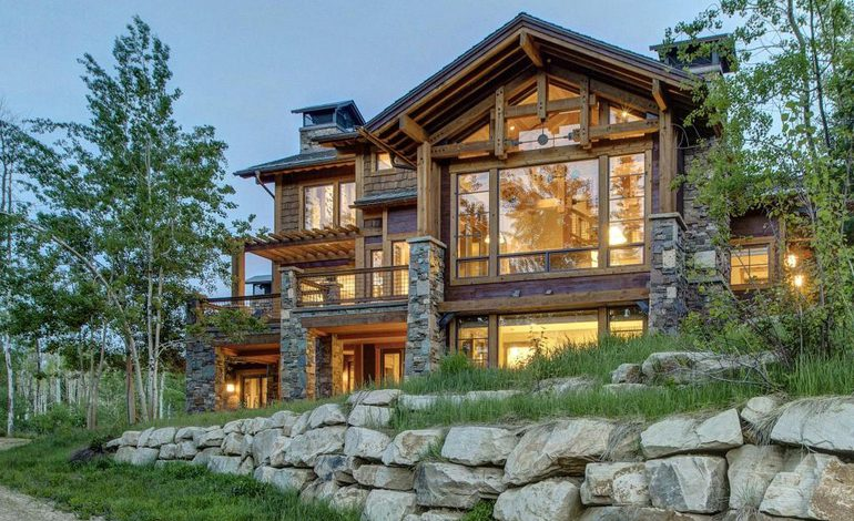 Photo of Dream House: Park City Timberframe Stone Lodge (22 Photos)