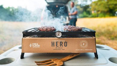 Photo of Gear Haul: HERO Portable Charcoal Grill