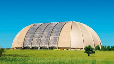Photo of You'll Never Guess the Awesomeness Inside this Old German Airship Hangar (13 Photos)