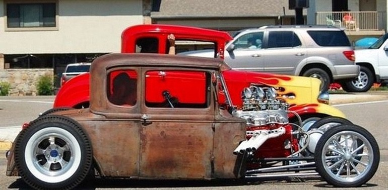 Afternoon Drive: Hot Rods and Rat Rods (1)