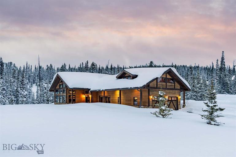 Dream House: Big Sky, Montana Rustic Retreat (1)