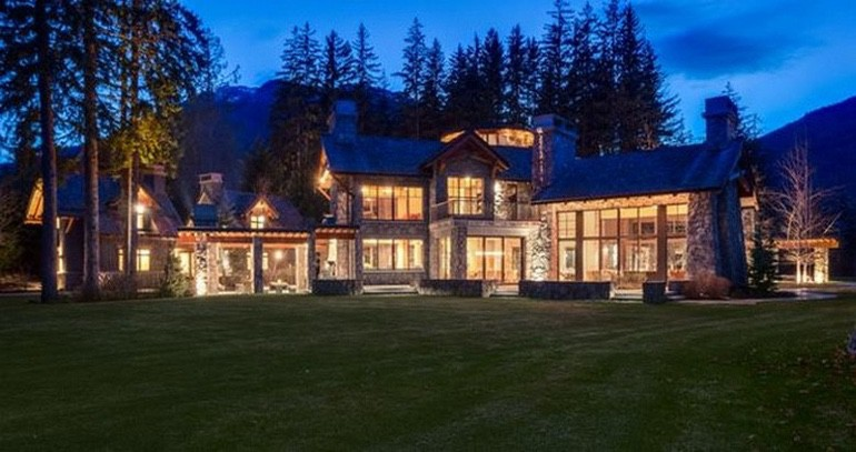 Dream House: Whistler Canadian Mountaintop Mansion For Sale Real Estate (1)