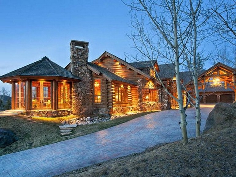 Dream House: Jackson Hole Log Cabin (1)