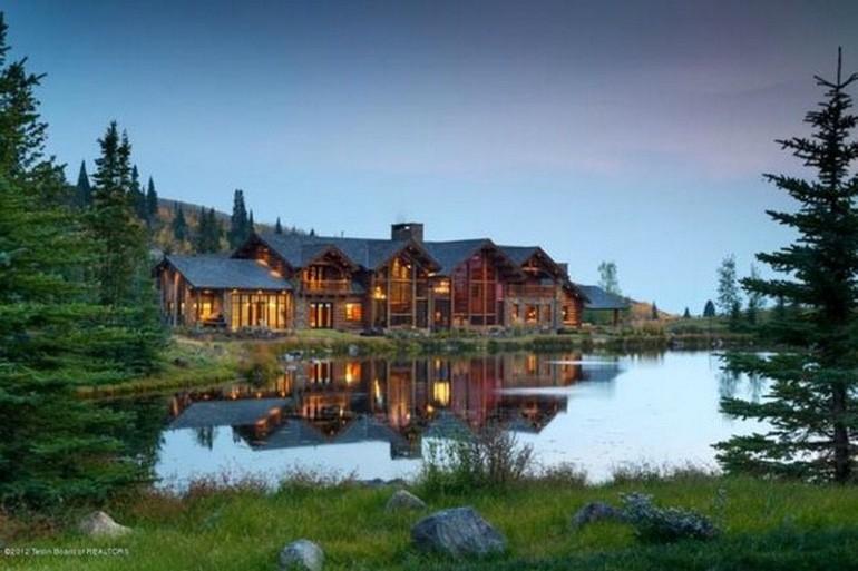 Dream House: Wyoming Mountain Estate (1)