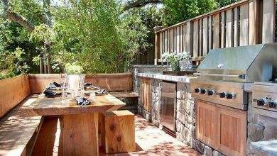 Photo of These Outdoor Kitchens Help You Get Your Grill On (30 Photos)