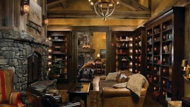 Cozy Up In Front of these Rustic Fireplaces (1)