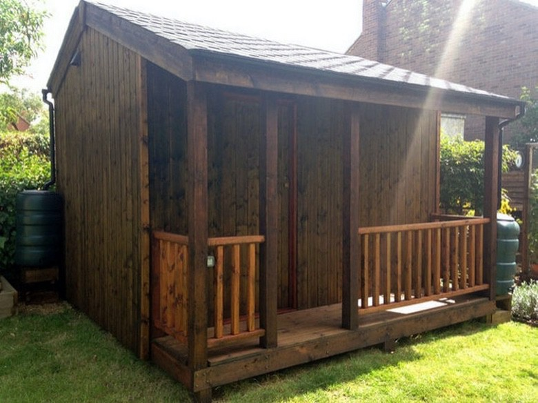 backyard shed home movie theater (1)