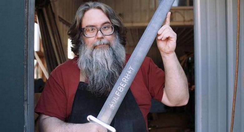 Photo of Blacksmith Reproduces 9th Century Viking 'Valyrian Steel' (Video)