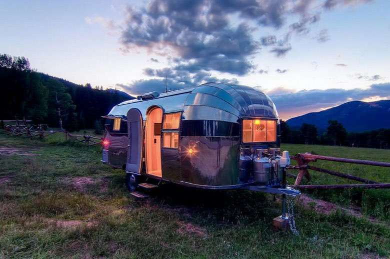 Camp in Style in the This Beautifully Restored 1954 Airstream Flying Cloud (1)