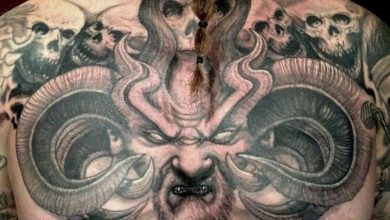Photo of These 25 Creepy Tattoos Will Get You in the Halloween Spirit