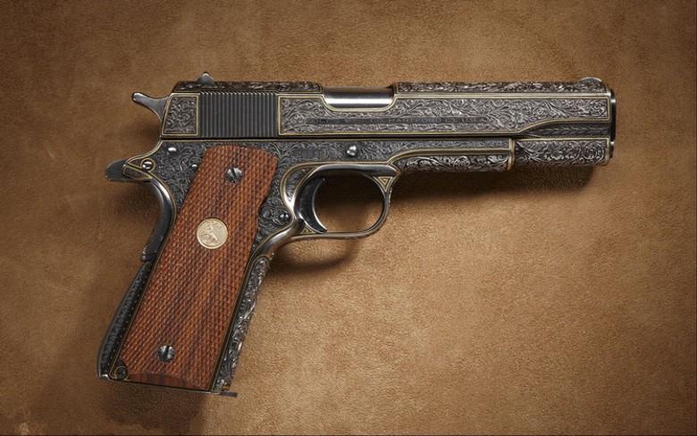 Suburban Men Gorgeous Custom Handguns